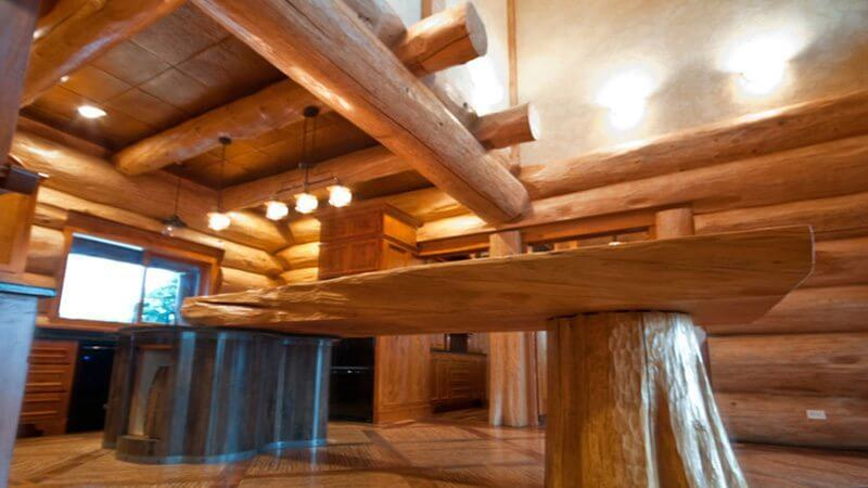 pioneer log home. Black Bedroom Furniture Sets. Home Design Ideas